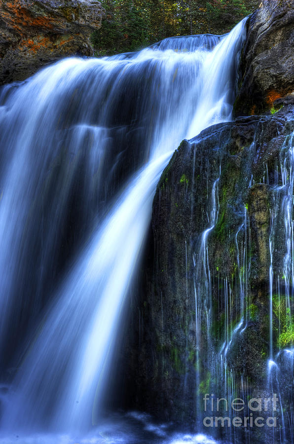 Places Photograph - Crayfish Falls by Dennis Hammer