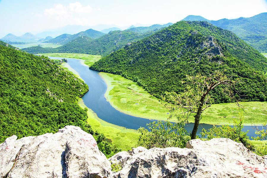 River Photograph - Crnojevic River, Montenegro by Ruth Hofshi