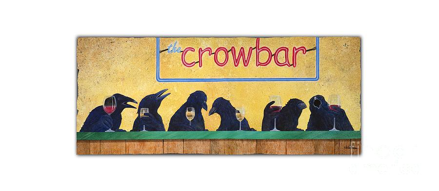 Will Bullas Painting - Crowbar... by Will Bullas