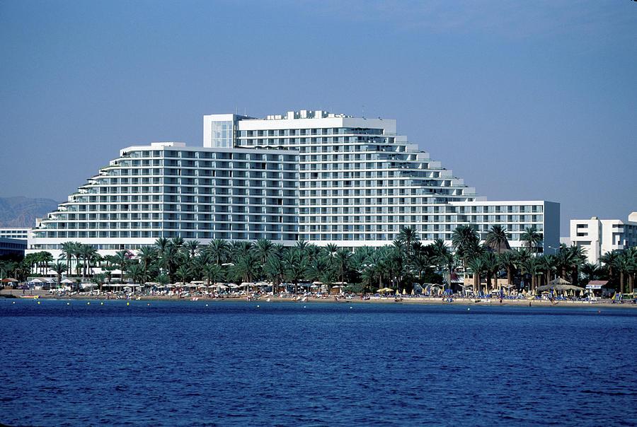 Dan Hotel Eilat In Israel Photograph