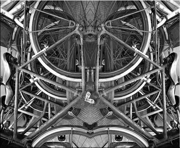 Abstract Photograph - Density-05 by Yehan Wang