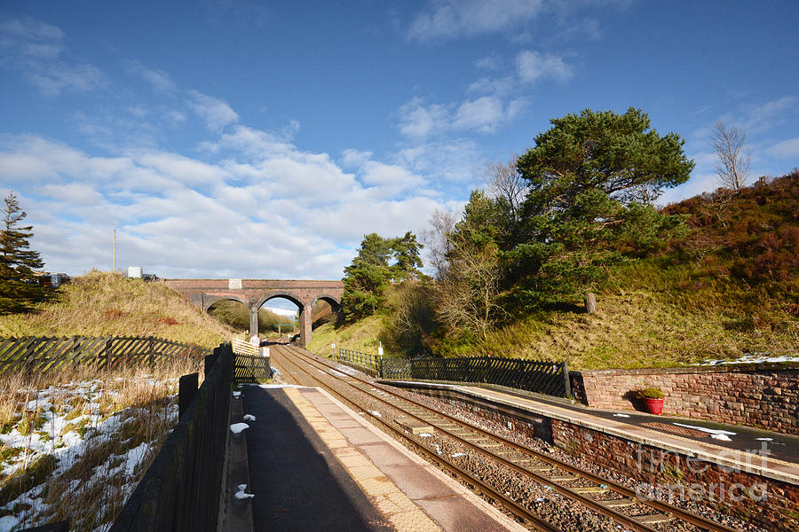 Dent Railway Station Photograph - Dent Railway Station by Smart Aviation
