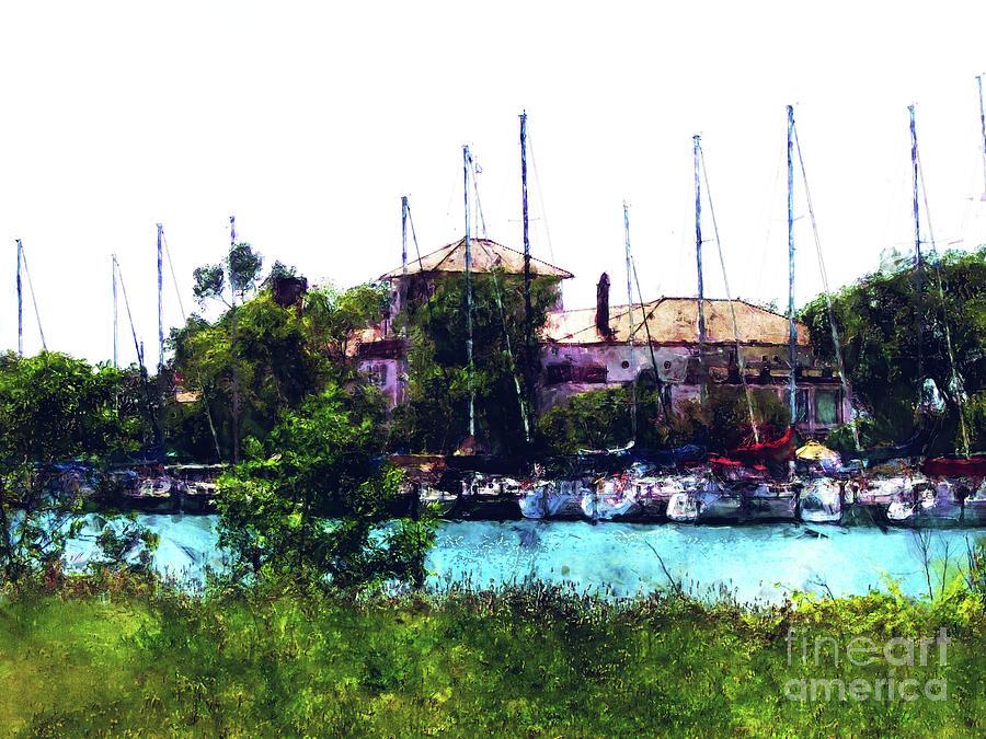 Detroit Yacht Club Digital Art - Detroit Yacht Club by Phil Perkins
