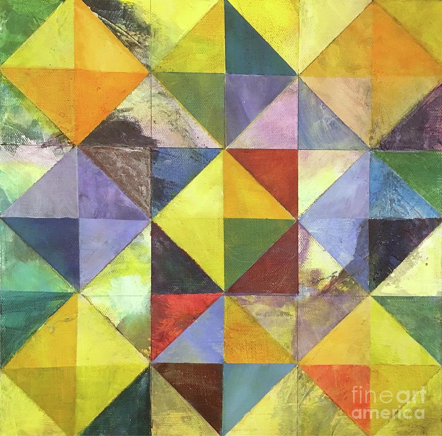 Mixed Media Mixed Media - Diamond Illusion by Christine Chin-Fook