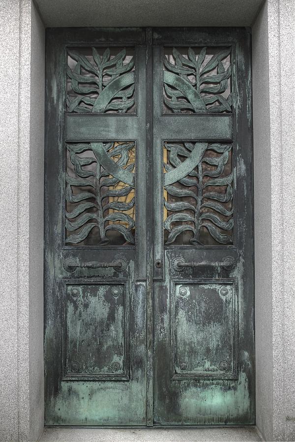 Door Photograph - Door Doors Portals Portalbellefontaine Verdigris Metal & Door Doors Portals Portalbellefontaine Verdigris Metal Door ... pezcame.com