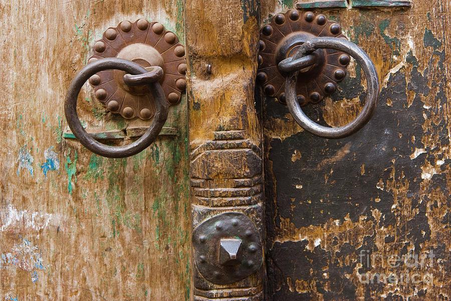 Door Photograph - Door Knob by Juan  Silva