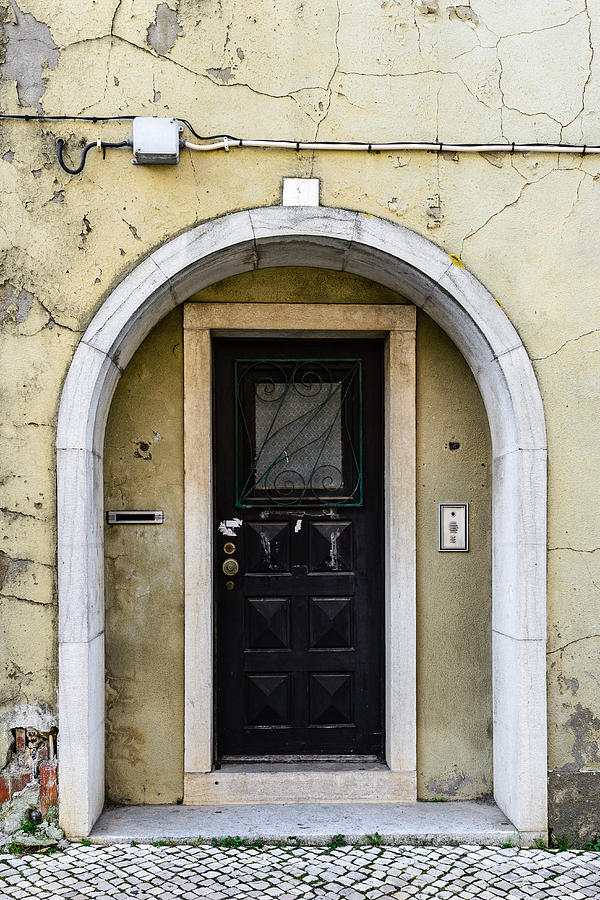 Architecture Photograph - Door No 4 by Marco Oliveira