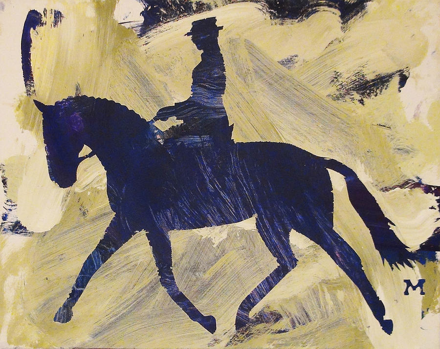 Horse Painting - Dressage Queen by Candace Shrope