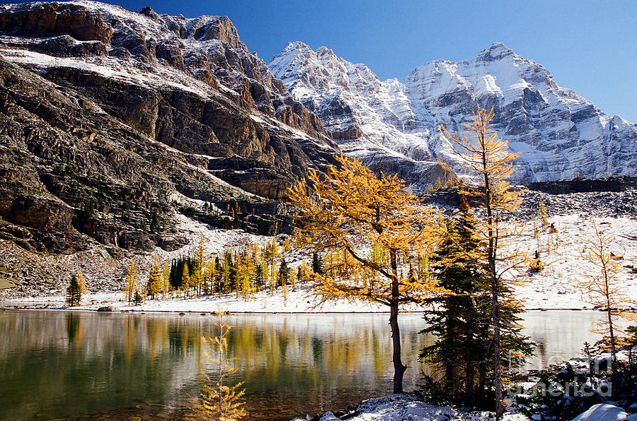 Mountains Photograph - September Dusting by Frank Townsley
