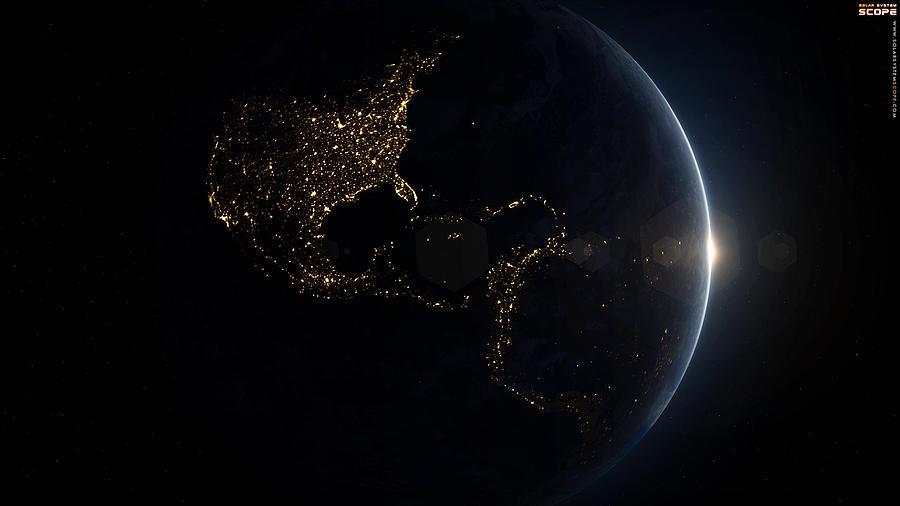 Earth Digital Art - Earth by Dorothy Binder