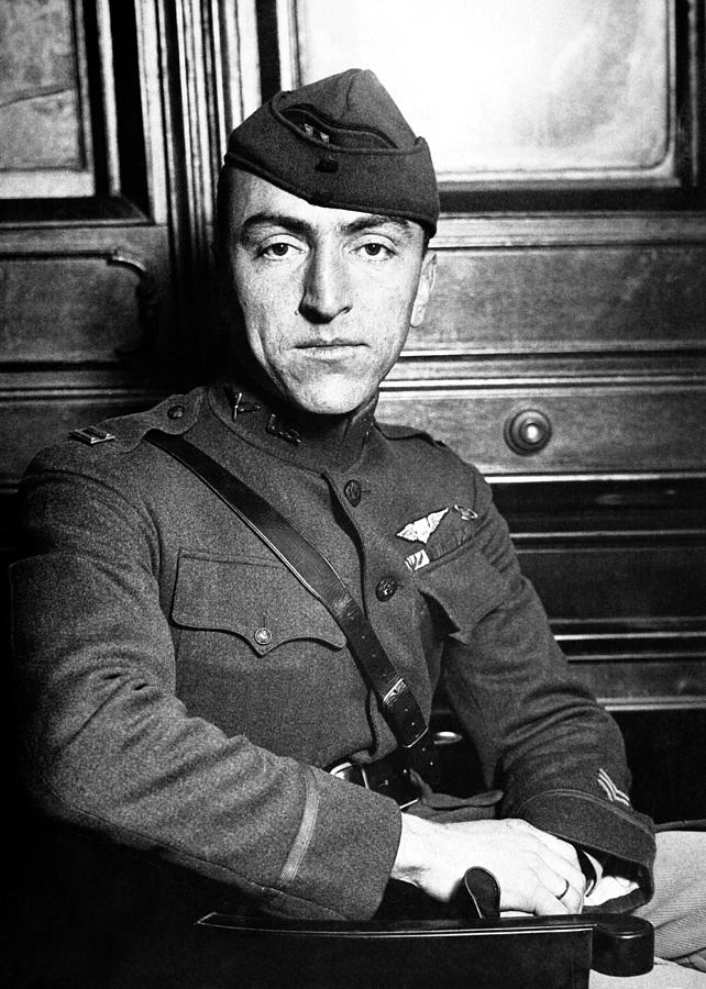 Eddie Rickenbacker Photograph - Eddie Rickenbacker by War Is Hell Store