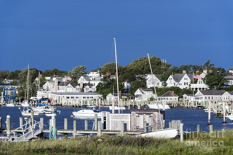 Edgartown Photograph - Edgartown Harbor by John Greim