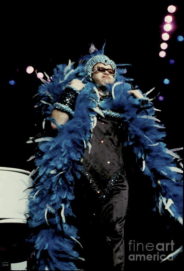 Concert Photograph - Elton John by Concert Photos