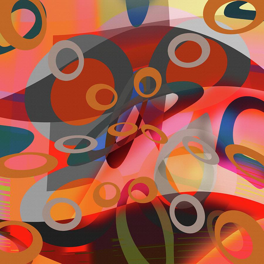 Modern Digital Art - Energised Series by Andrew Penman