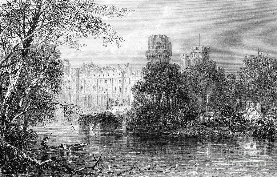 19th Century Photograph - England: Warwick Castle by Granger