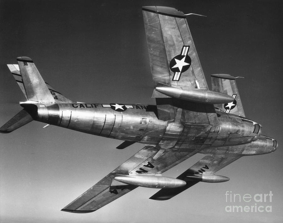 20th Century Photograph - F-86 Jet Fighter Plane by Granger