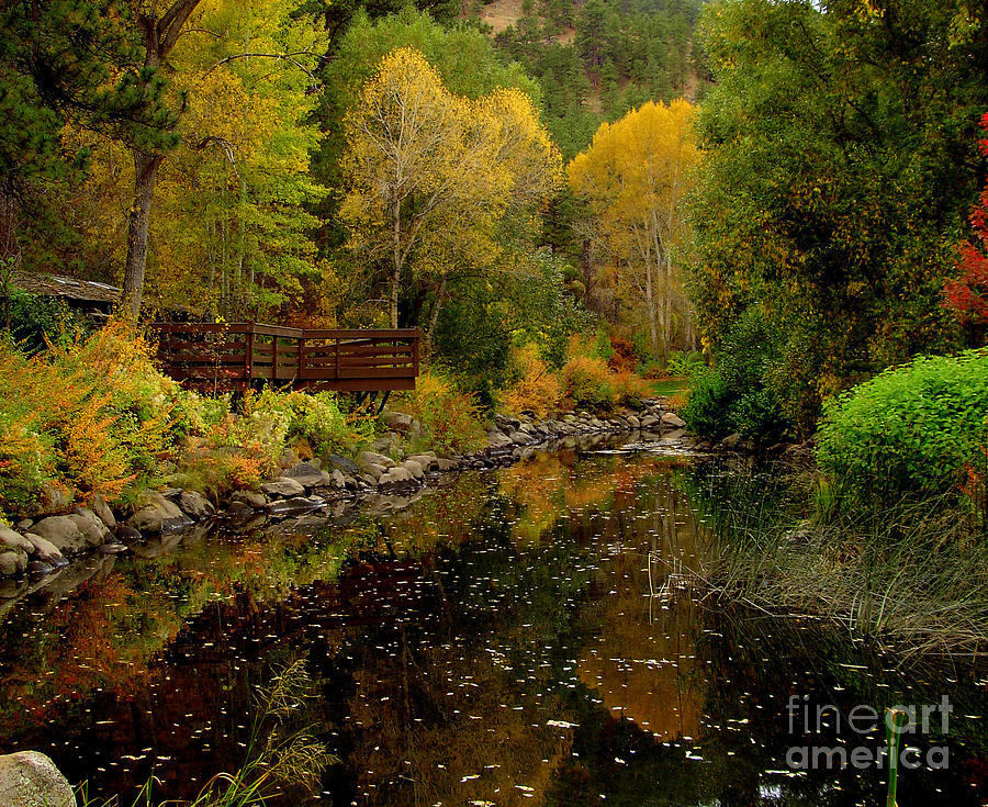 Fall Photograph - Fall In The Rocky Mountains by Marilyn Magee