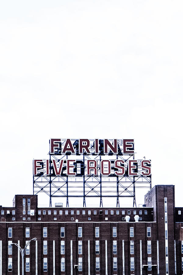 Montreal Photograph - Farine Five Roses by Tanya Harrison