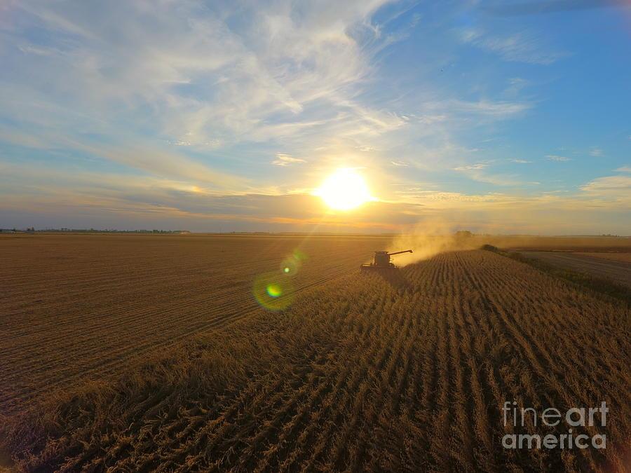 Farming Photograph - Farming by Timeless Aerial Photography LLC