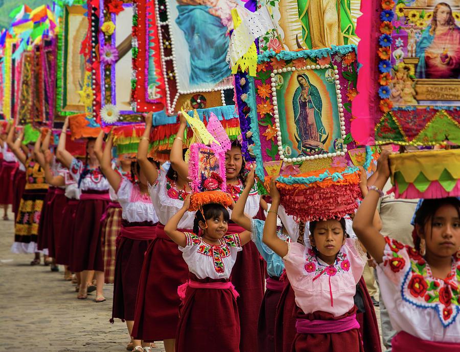 Fiesta in Oaxaca, Mexico Photograph by Dane Strom