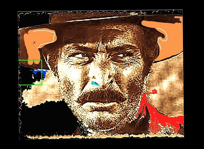 Film Homage Lee Van Cleef Spaghetti Westerns Publicity Photo Collage 1966-2008 Photograph by David Lee Guss