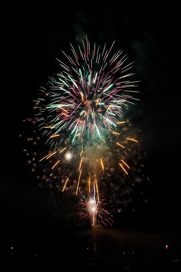 Fireworks Photograph - Fireworks  by Jan M Holden