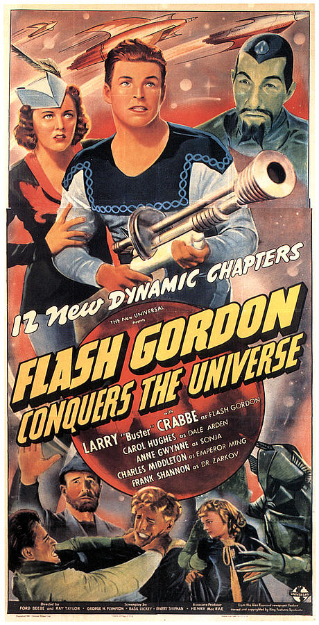 1940 Movies Photograph - Flash Gordon Conquers The Universe by Everett