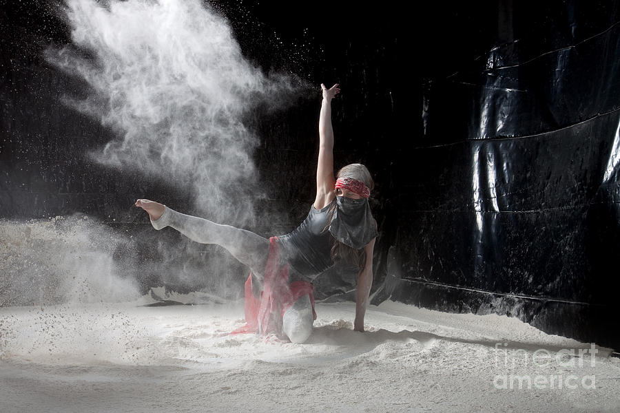 Dancing Photograph - Flour Dancing Series by Cindy Singleton