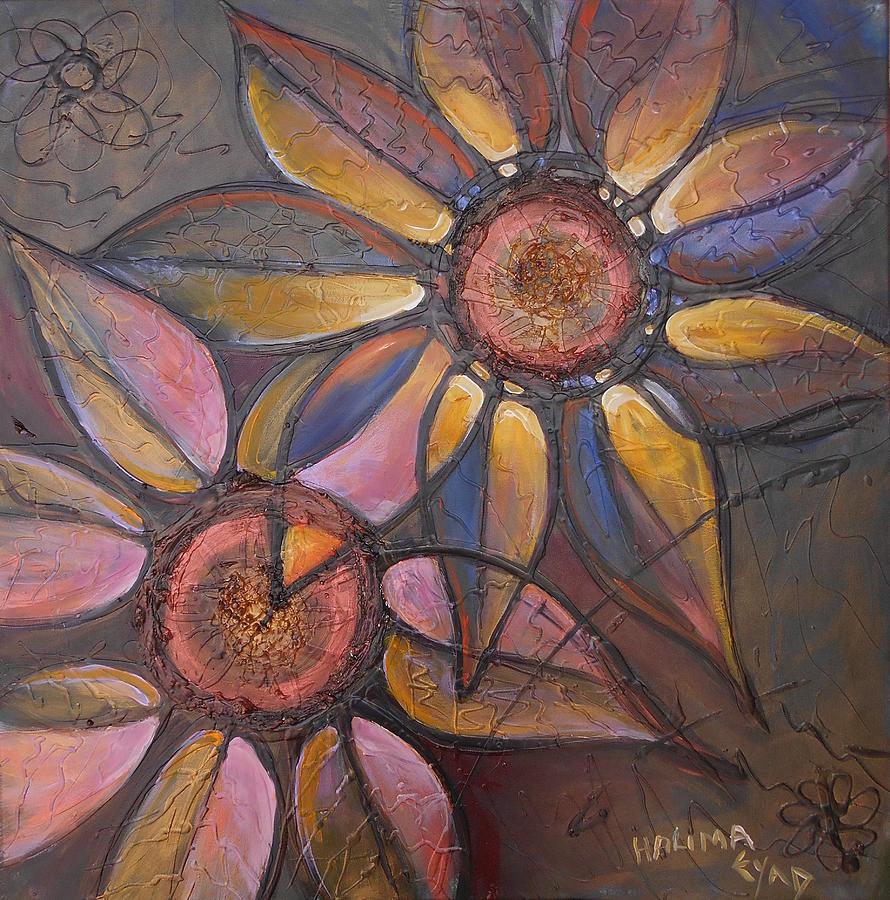 2 Flowers  by Eric Shelton