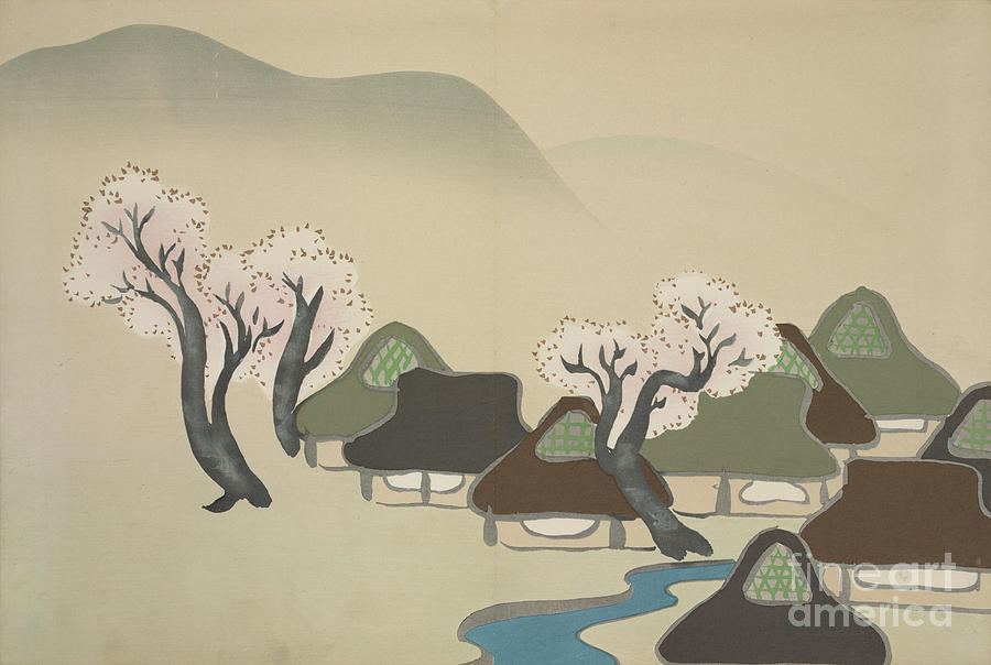 by Kamisaka Sekka Japanese Prints 1909 Japanese Art Flowers of a Hundred Generations