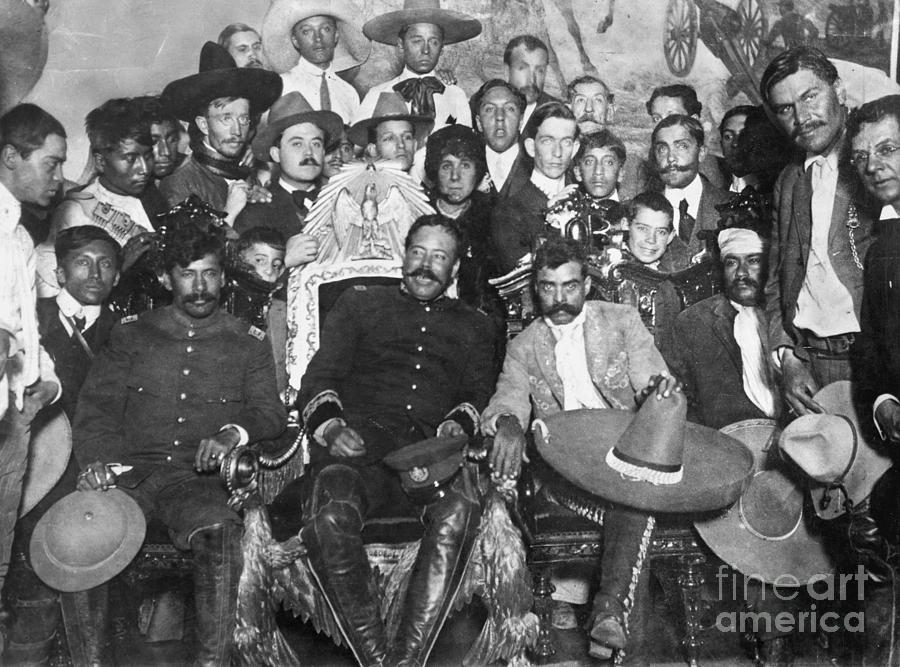 1914 Photograph - Francisco Pancho Villa by Granger
