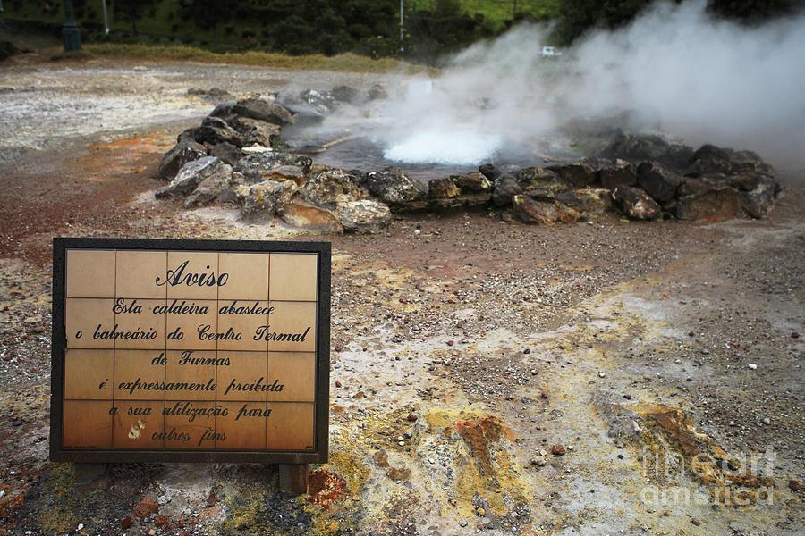 Volcano Photograph - Furnas - Azores by Gaspar Avila