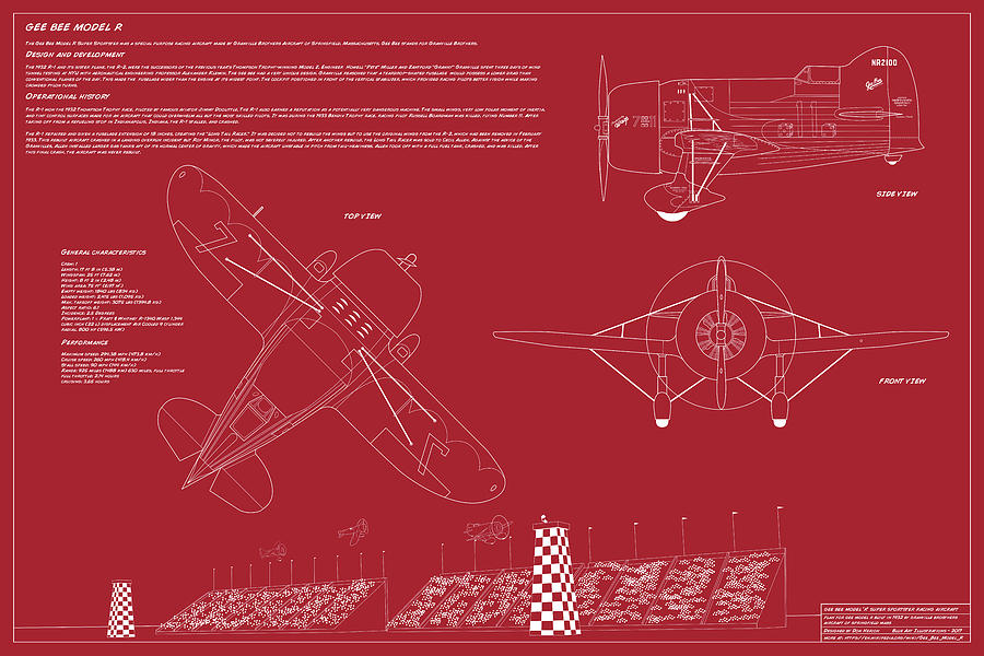 Gee Bee Model R by Donald Herion