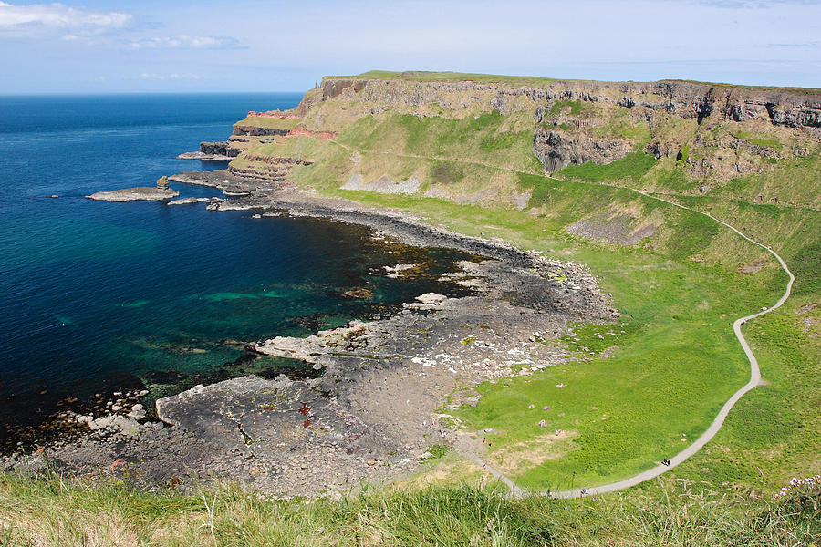 Giant Causeway Photograph - Giant Causeway Northern Ireland by Pierre Leclerc Photography