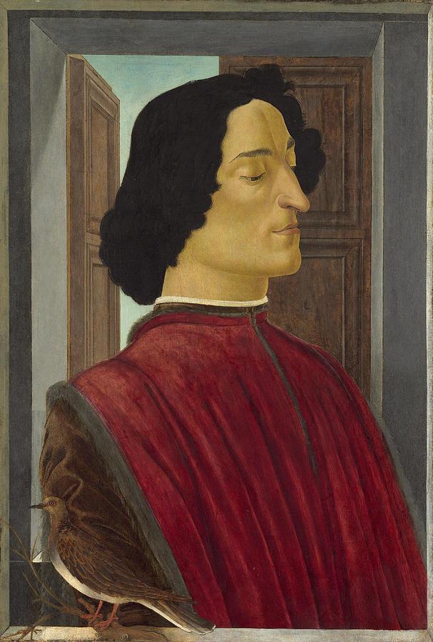 Giuliano De Medici Painting