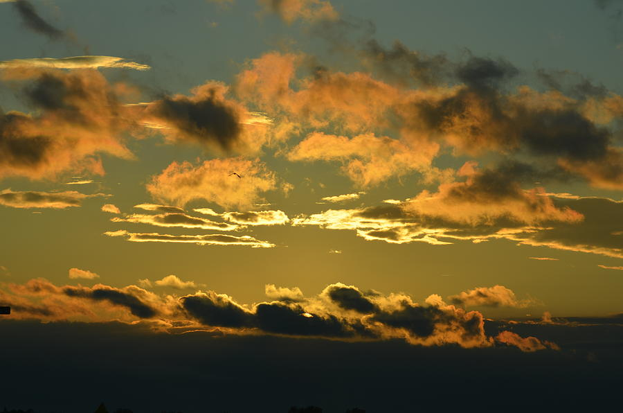 Clouds Photograph - Good morning by Paulina Roybal