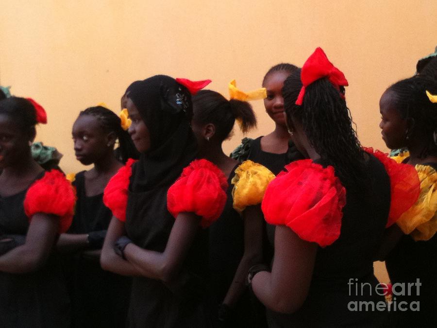Goree Photograph - Goree Girls by Fania Simon