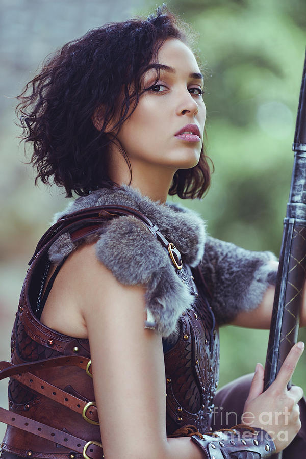 Got Photograph - Got Warrior Princess by Amanda Elwell