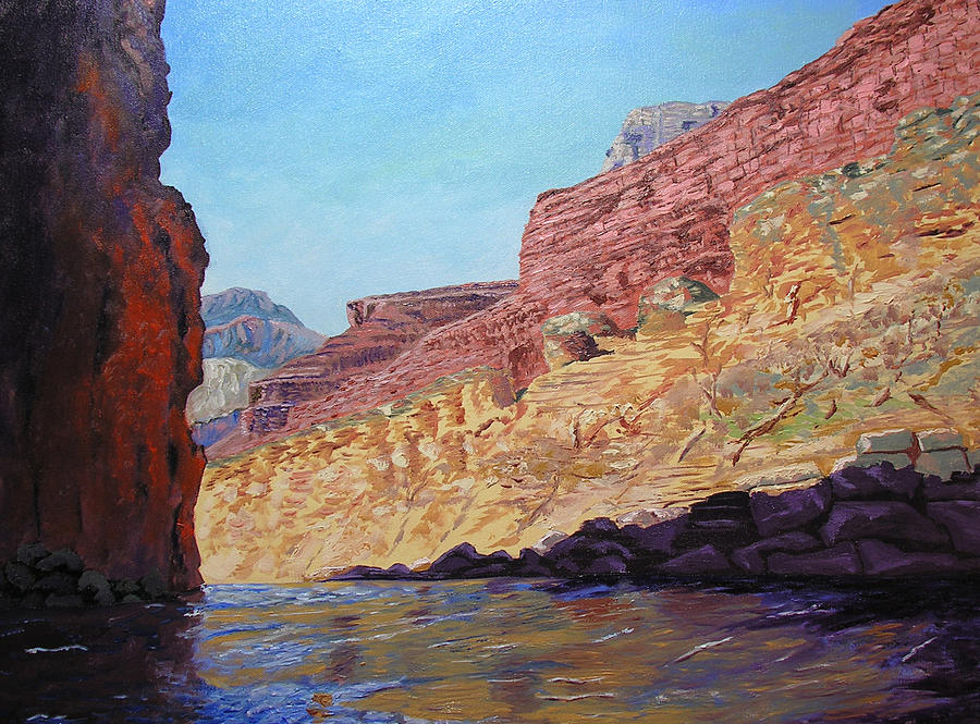 Grand Canyon Painting - Grand Canyon IIi by Stan Hamilton