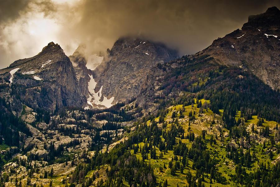 Wyoming Photograph - Grand Tetons by Patrick  Flynn