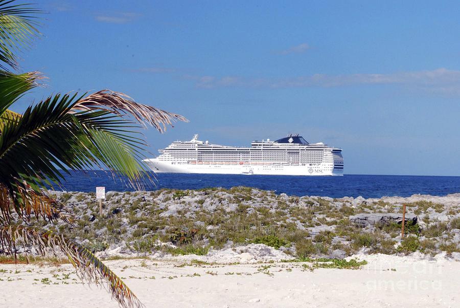 Cruise Photograph - Great Stirrup Cay by Gary Wonning