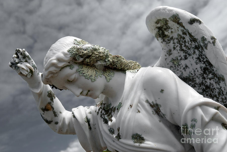Angel Sculpture - Grieving Angel by Yurix Sardinelly
