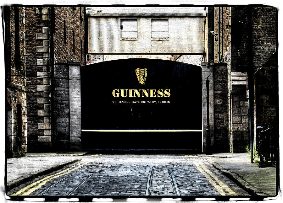 Dublin Photograph - Guinness by David Harding
