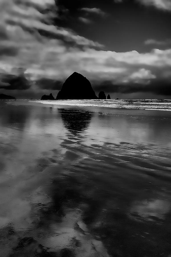 Cannon Beach Photograph - Haystack Rock by David Patterson