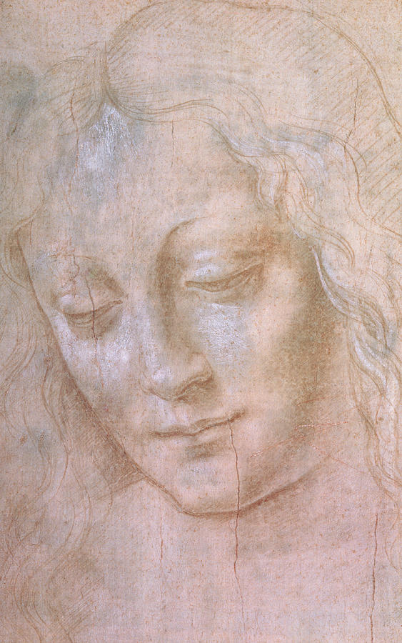 Head Of A Woman Painting