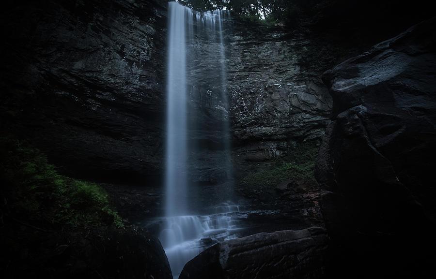 Waterfall Photograph - Hemlock Falls by Mike Dunn