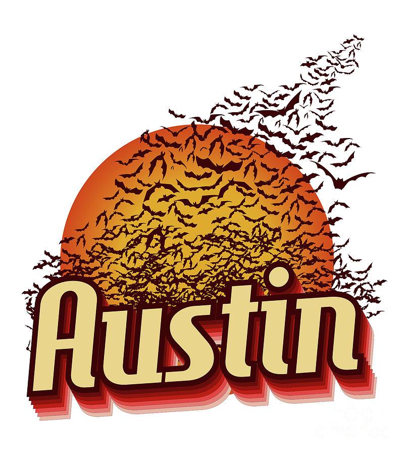 Austin Texas Bats Photograph - South Congress Avenue Bridge Bats Take Flight by Herronstock Prints