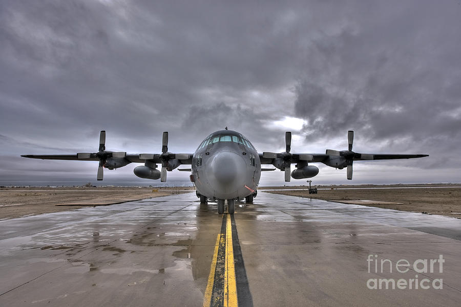 Air Force Photograph - High Dynamic Range Image Of A U.s. Air by Terry Moore