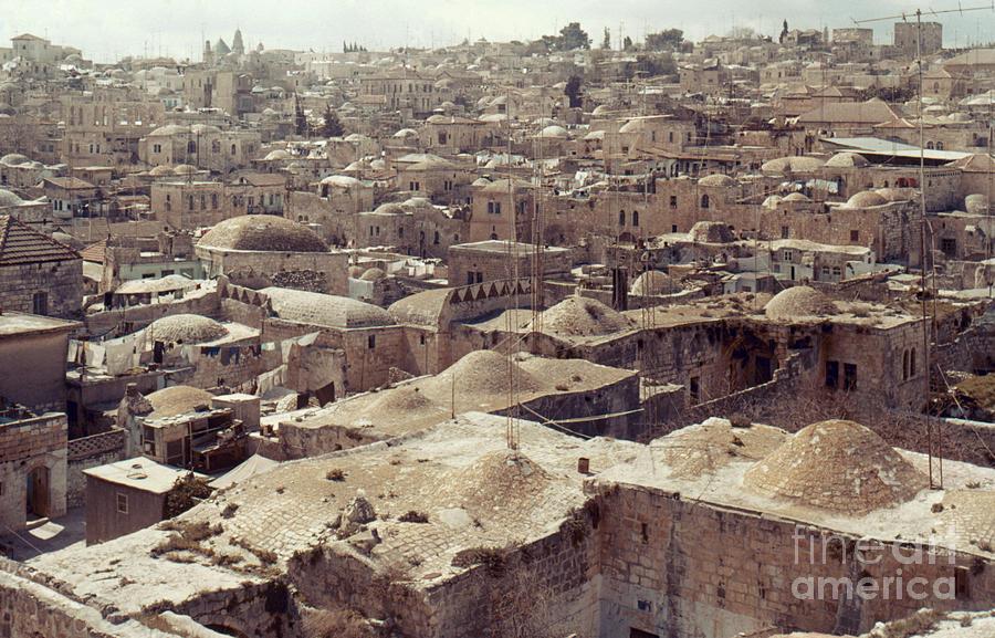 Architecture Photograph - Holy Land: Jerusalem by Granger
