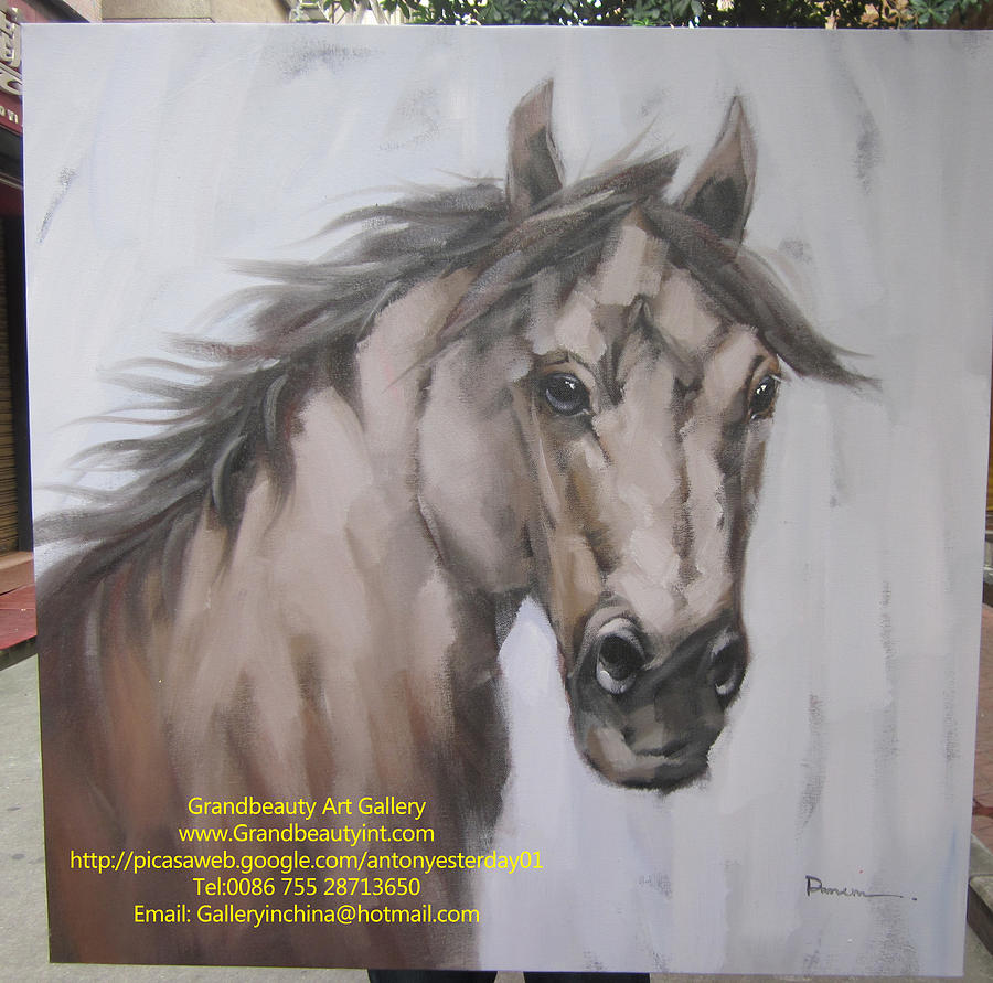 Horse Painting - Horse by Darren